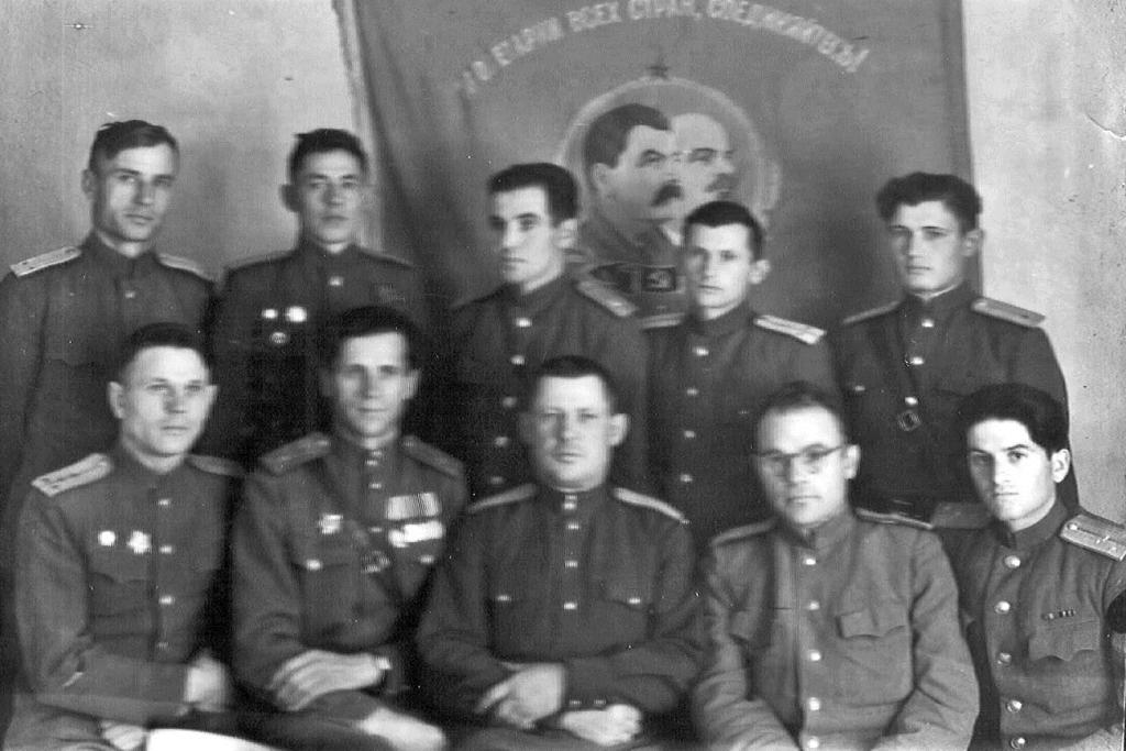 Командный состав, 1949 г.