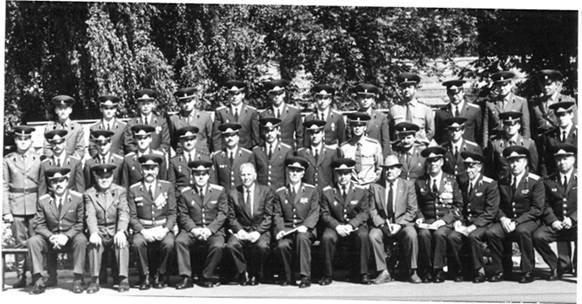 Офицеры и прапорщики войсковой части 55210-Москва