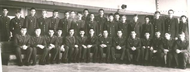 Комсомольские работники войсковой части 25525