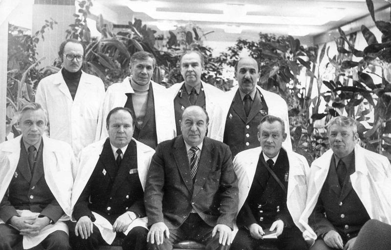 10 (2) 1976 год в составе Делегации МО СССР