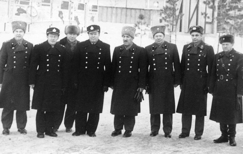 10 Цатуров Э.А. сопровождает Делегацию МО СССР