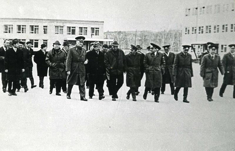 Посещение Министром воинского городка в Красноярске – 45 (ныне город ЗЕЛЕНОГОРСК