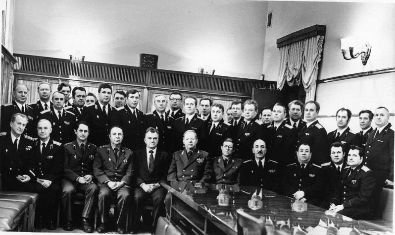 В зале коллегии после вручения государственных наград