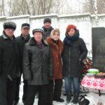 Посещение захоронения Карпюка П.Ф.