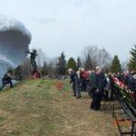 На Митинском кладбище почтили память погибших при ликвидации последствий аварии на ЧАЭС