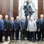 Чествование ветеранов военного строительства