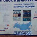 Фоторепортаж из УИК по выборам Президента РФ