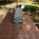 Закладка памятного камня