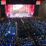 27 октября в Кремле прошел вечер-концерт, посвященный 100-летию комсомола