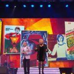 Праздничный концерт, посвященный 100-летию со дня образования ВЛКСМ
