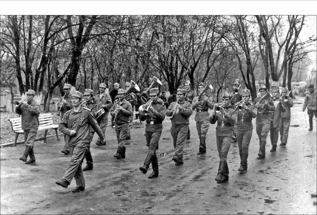 В Чернобыле, 1986 г