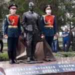 Открытие памятника «Курсантам военного училища атомного проекта СССР» в г.Дубне