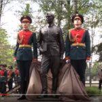 Памятник курсантам Волжского военного училища Атомного проекта СССР открыли в Дубне