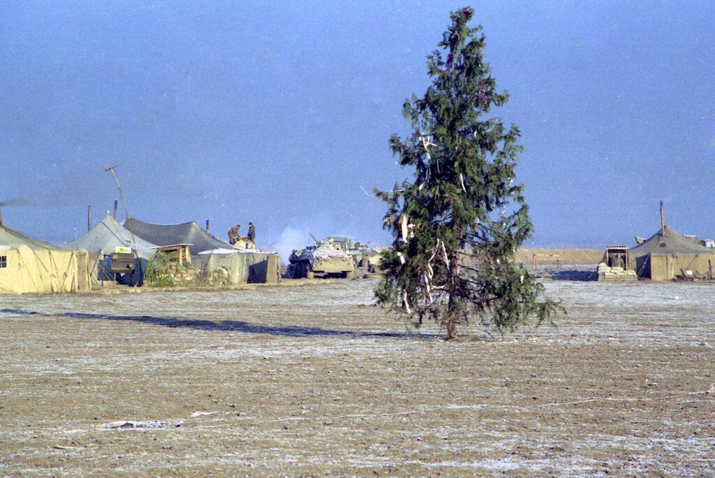 Новый год в окрестностях Курчалоя. Февраль 2002 г.