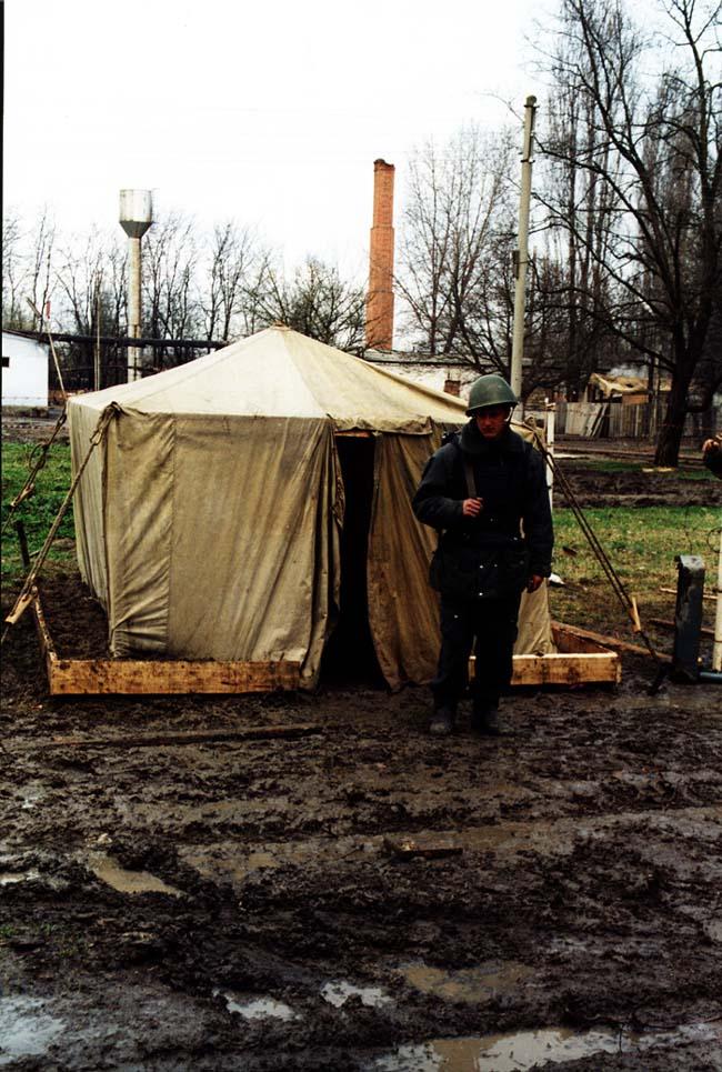 Оперативная часть ВВ Курчалой. март 2003 г