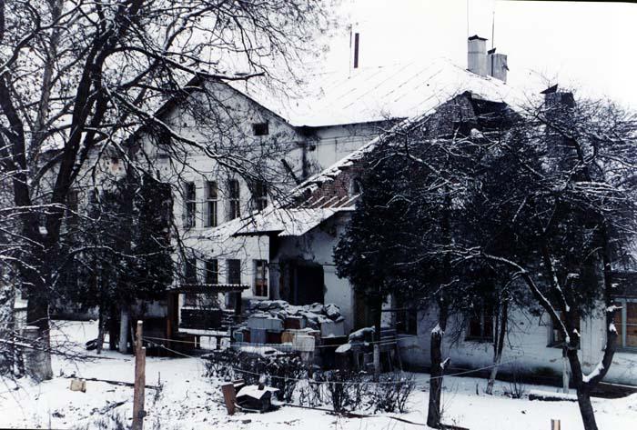 Распложение томского СОБРа. Алды, февраль 2002 г.