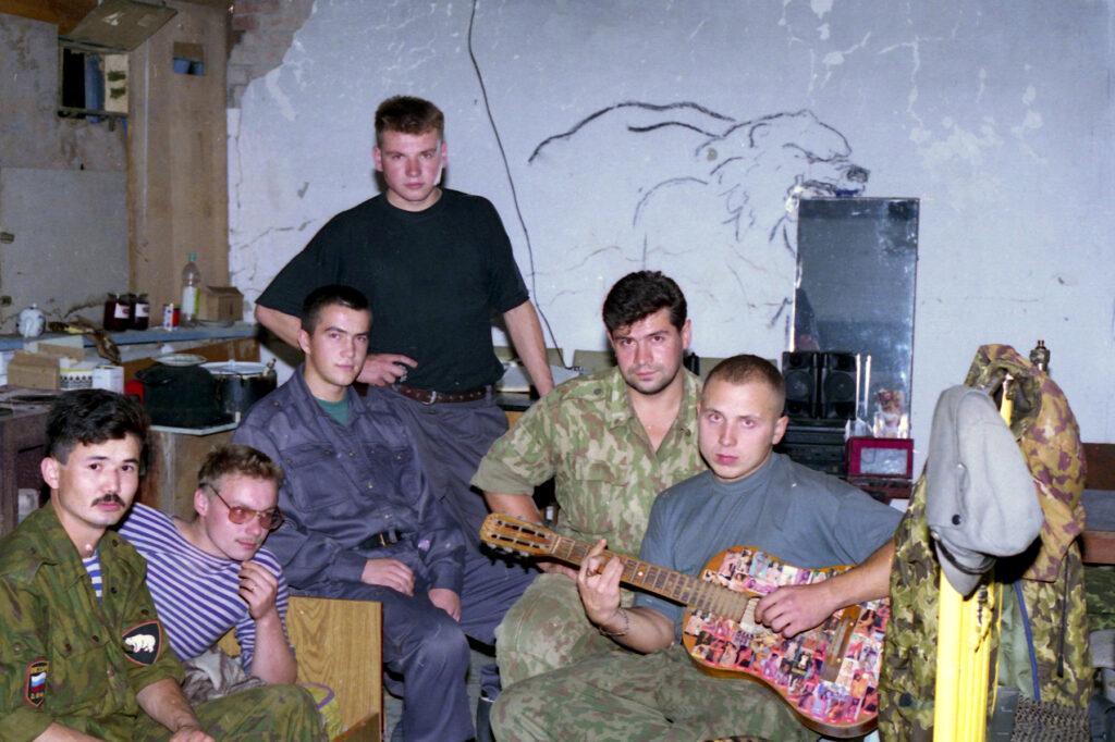 Солдаты Чечни. Бамут. Октябрь 1996 г.