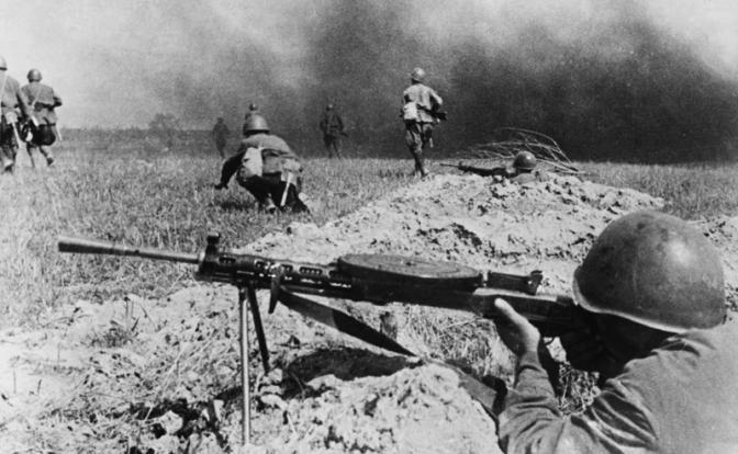 На фото: Великая Отечественная война, октябрь 1941 год