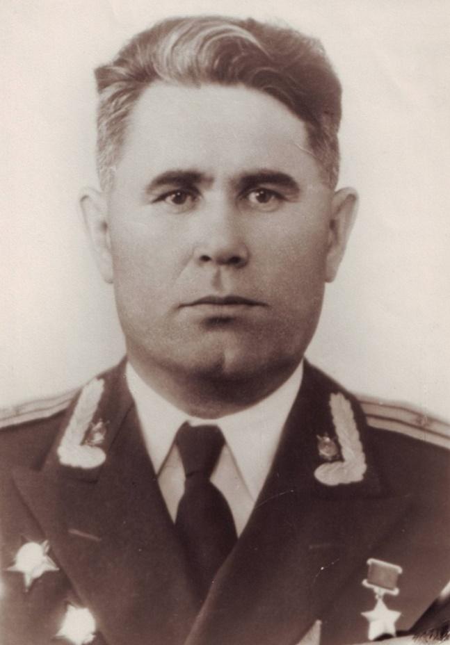 Портрет Ф. А. Сабирова, фото из личного дела