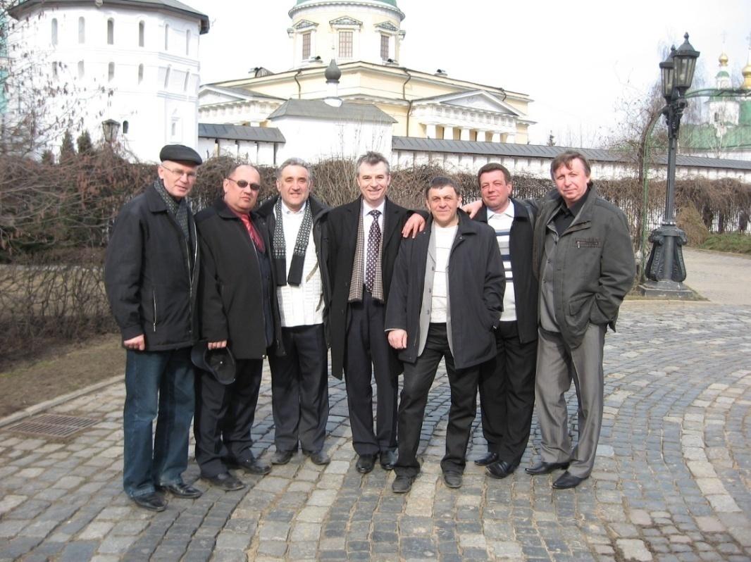 Свято-Данилов монастырь. Встреча с однокашниками по ВВСТУ