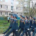 Парад Победы для ветерана ВОв Карелова В.П.