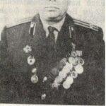 Подполковник в отставке Горин Пётр Кузьмич