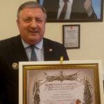 О награждении Почётной грамотой МО РФ Перенджиева А.Н.
